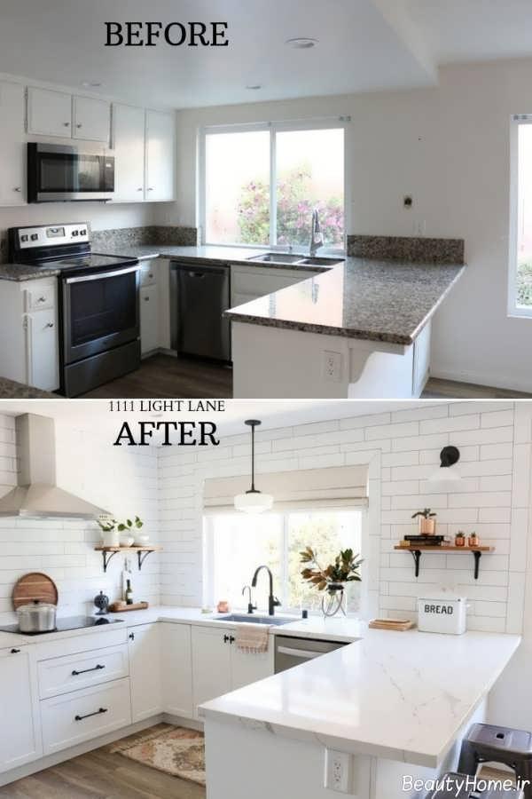 بازسازی کاشی آشپزخانه