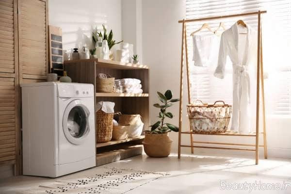 طراحی دکوراسیون داخلی اتاق لباسشویی
