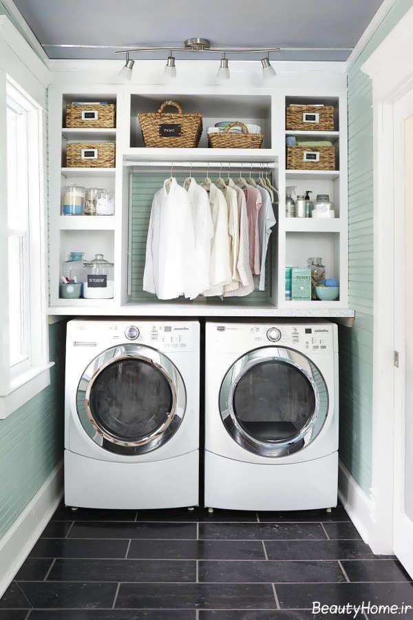 دکوراسیون اتاق لباسشویی