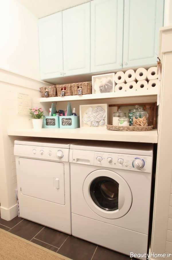 طراحی داخلی اتاق لباسشویی