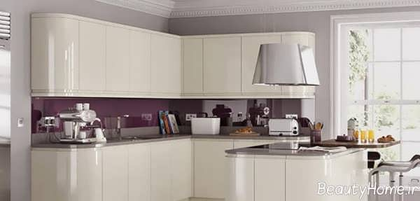کابینت آشپزخانه لمی گلاس