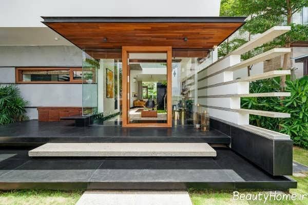 طراحی داخلی خانه ویلایی شیک