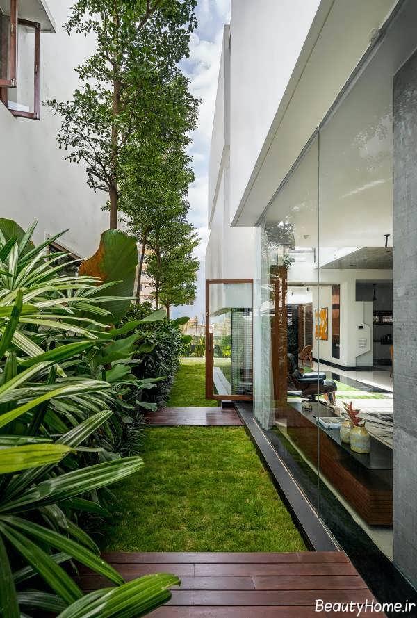 طراحی داخلی فضای سبز
