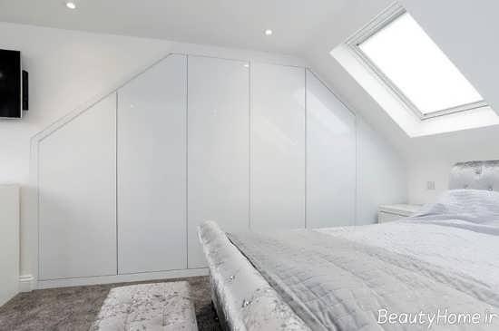 کمد دیواری سفید و خاص