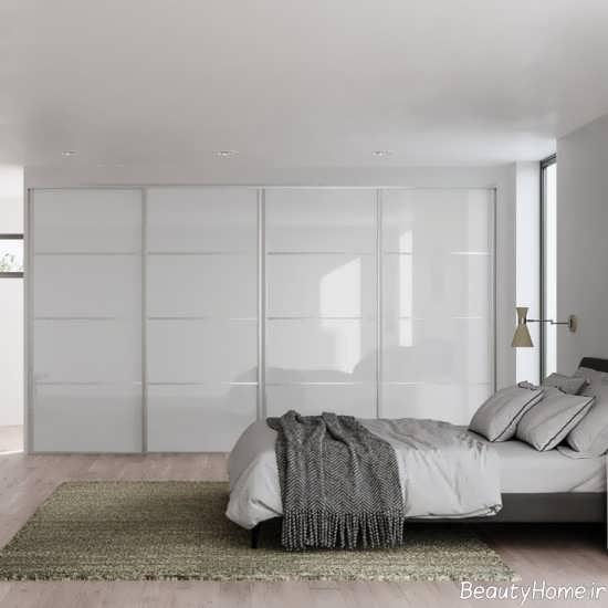 کمد دیواری سفید