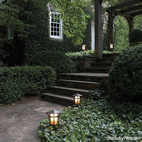 پله شیک برای حیاط