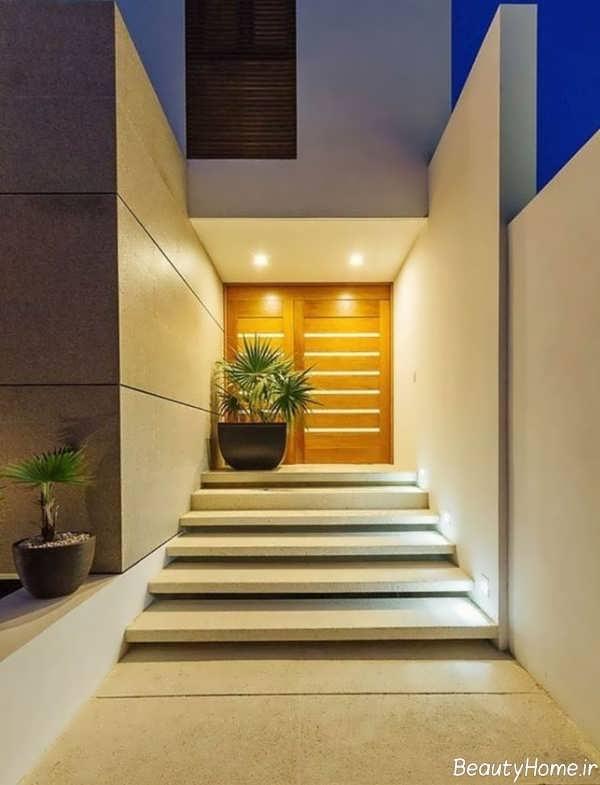 پله زیبا برای حیاط