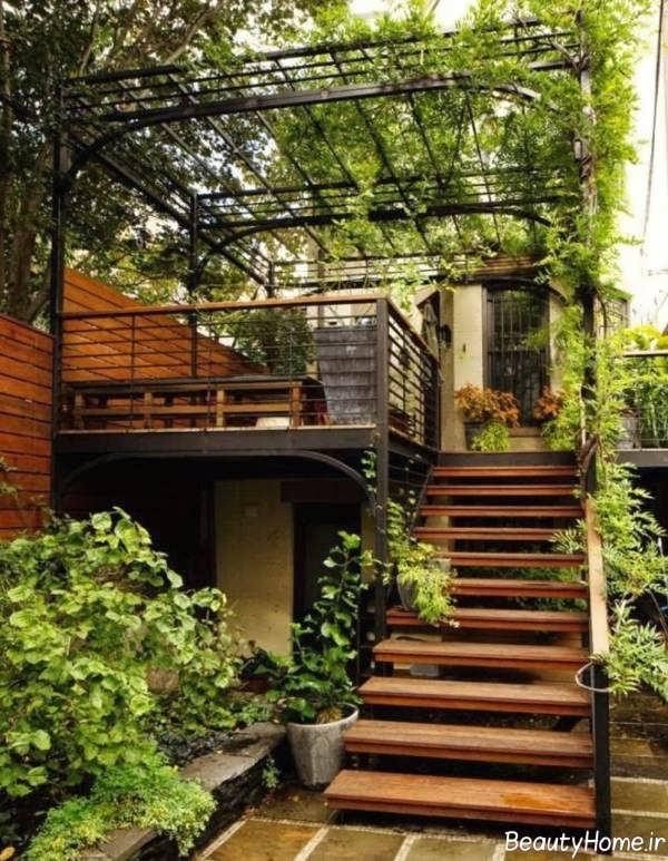 مدل پله برای حیاط