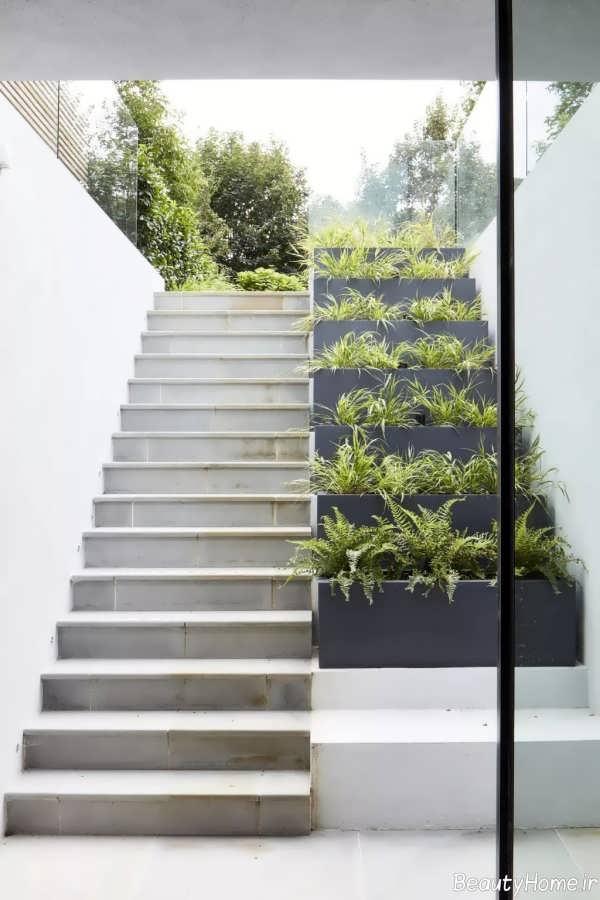 طرح های راه پله مخصوص حیاط
