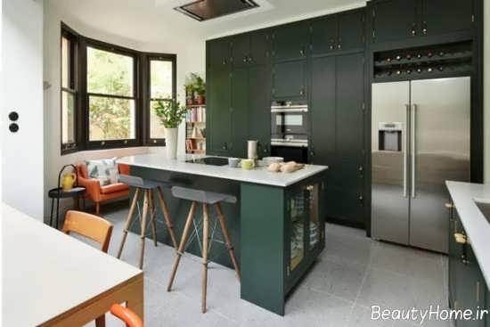 مدل کابینت آشپزخانه کمدی