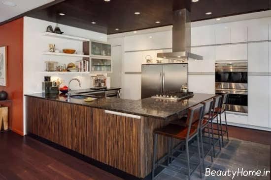 مدل کابینت کمدی برای آشپزخانه