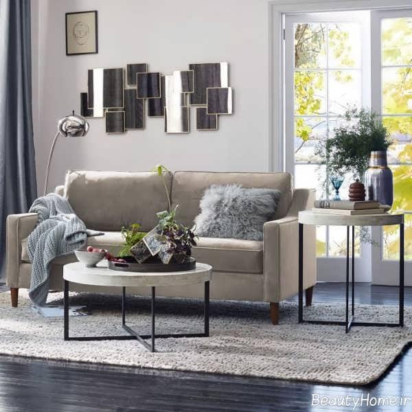 دیزاین داخلی منزل با رنگ خنثی