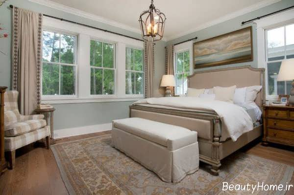 طراحی داخلی اتاق خواب به کمک رنگ های خنثی