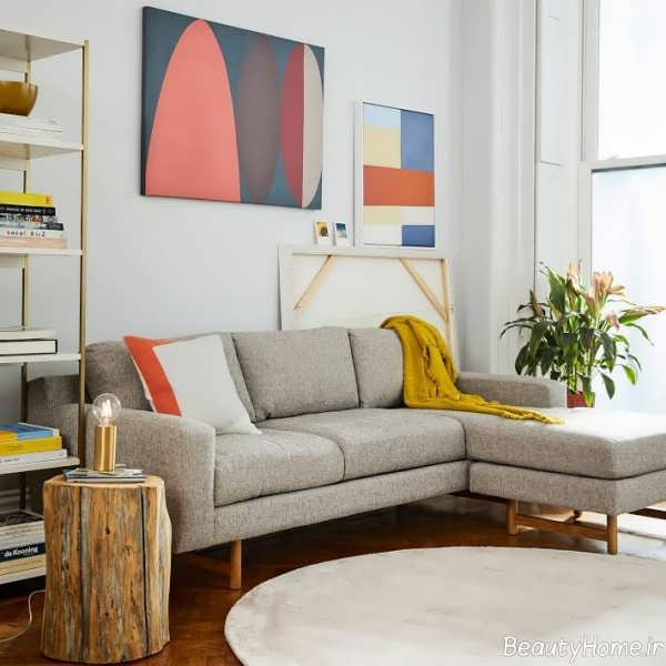 دیزاین داخلی خانه های مدرن با رنگ خنثی