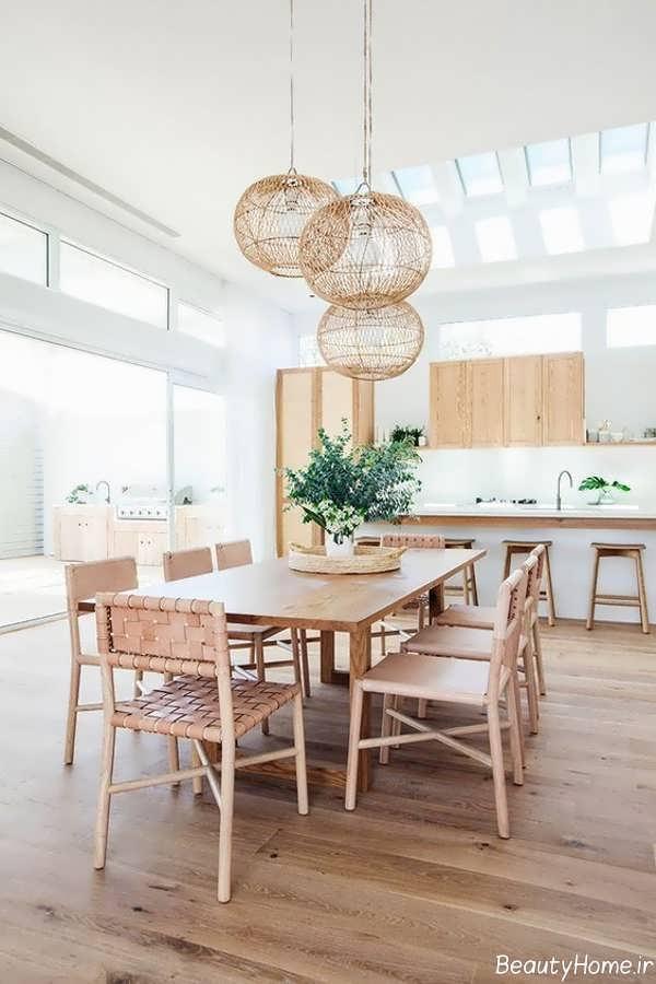 دکوراسیون داخلی آشپزخانه با رنگ هایی خنثی