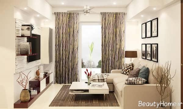 دکوراسیون منزل با رنگ های زیبا و خنثی