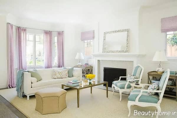 طراحی زیبا منزل با رنگ های خنثی