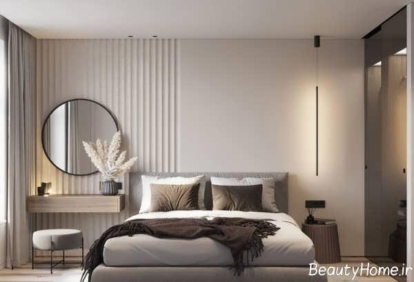 تزیین دیوار اتاق خواب با روش های کم هزینه