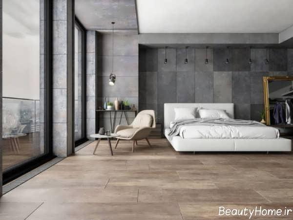 طراحی شیک اتاق خواب کم هزینه