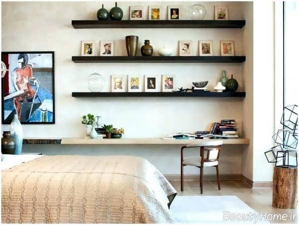 دکوراسیون متفاوت اتاق خواب کم هزینه