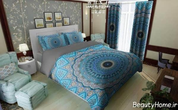 دکوراسیون اتاق خواب کم هزینه با مبل