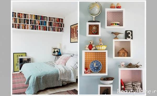 طراحی داخلی اتاق خواب کم هزینه و جذاب