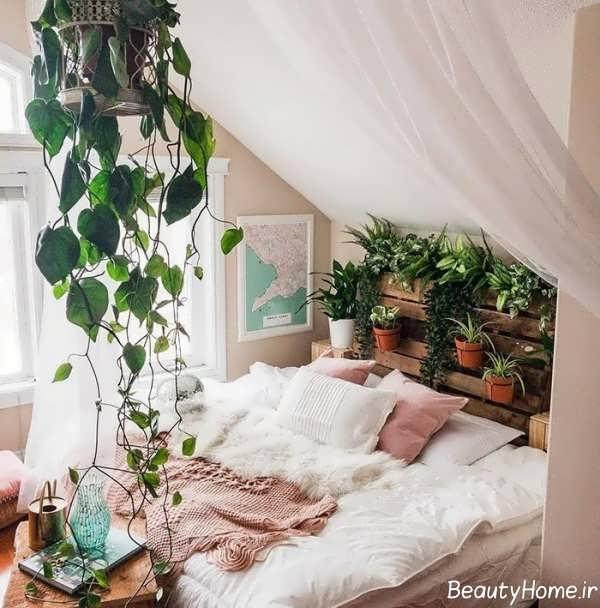 دیزاین اتاق خواب کم هزینه و شیک