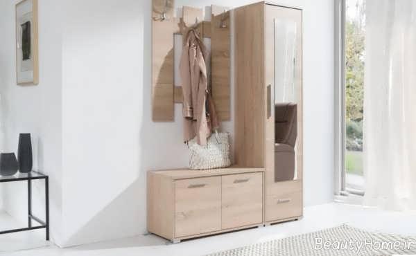 جاکفشی زیبا و شیک آینه دار