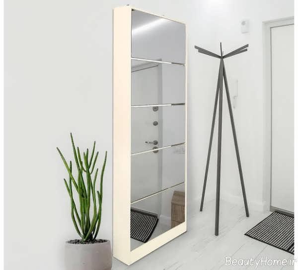 مدل جاکفشی آینه دار و مدرن