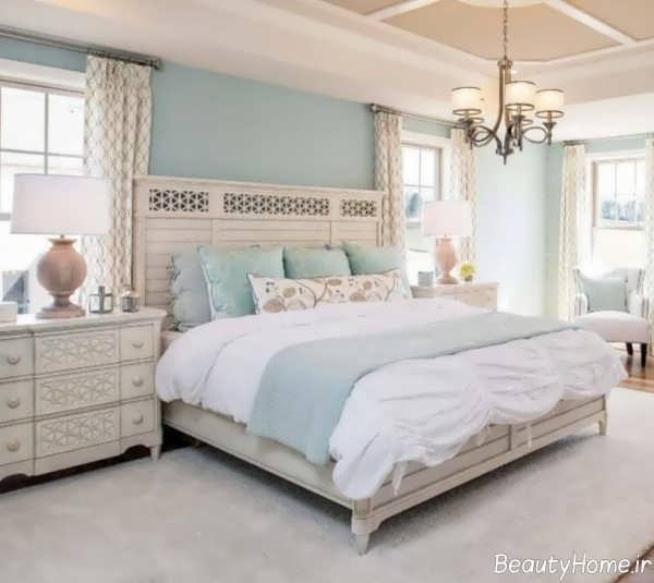 طراح داخلی اتاق خواب پاستلی