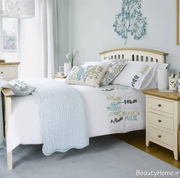 دکوراسیون رنگ پاستلی برای اتاق خواب