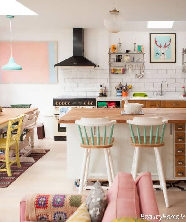دکوراسیون منزل با رنگ های پاستیلی