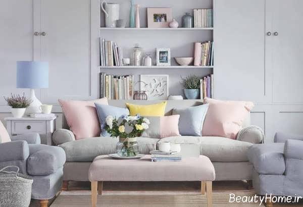 طراحی منزل با رنگ های پاستلی