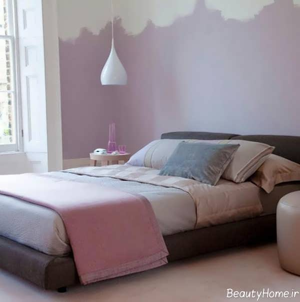 دکوراسیون اتاق خواب رنگ پاستلی