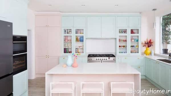 دکوراسیون آشپزخانه پاستیلی