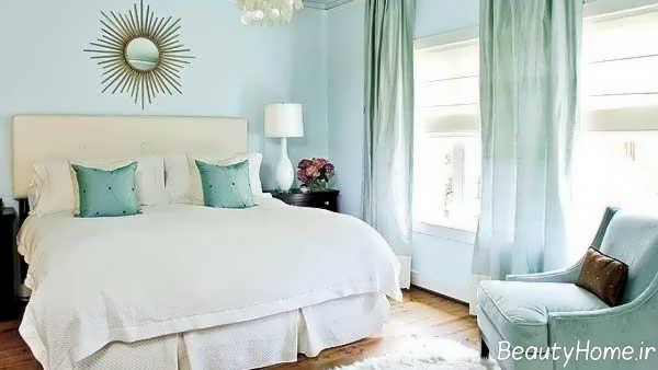دیزاین داخلی اتاق خواب با رنگ های پاستلی