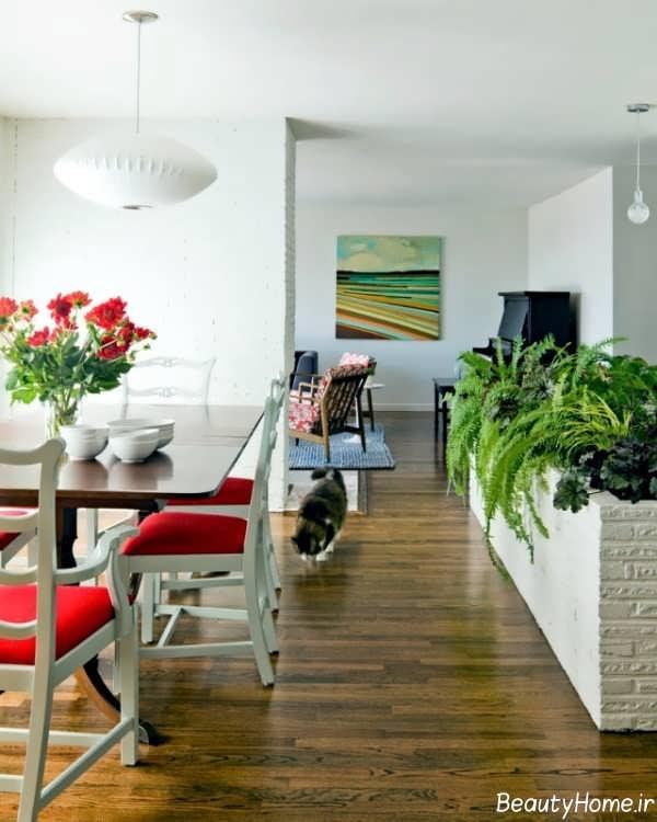 تاثیر گیاهان در دیزاین داخلی منزل