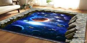 موکت سه بعدی طرح کهکشان