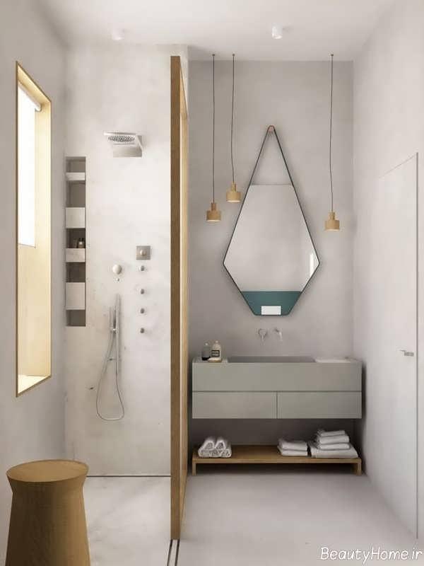 طرح آینه برای سرویس بهداشتی
