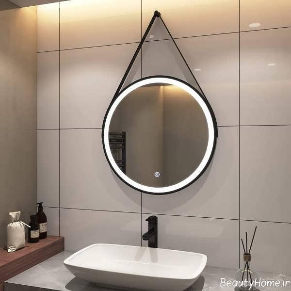 آینه گرد برای سرویس بهداشتی
