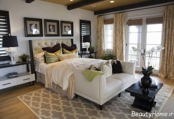 طراحی داخلی اتاق خواب بزرگ