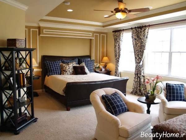دیزاین اتاق خواب بزرگ