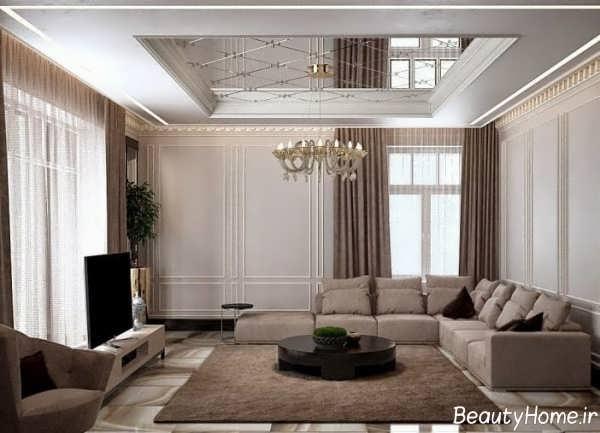 طراحی داخلی شیک پذیرایی