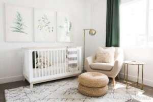 دکوراسیون اتاق نوزاد کوچک و خاص