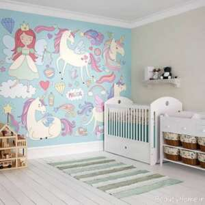 دکوراسیون اتاق نوزاد کوچک دخترانه
