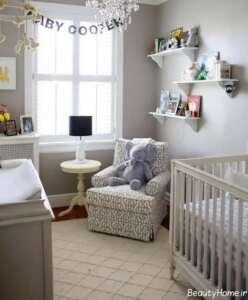 طراحی داخلی اتاق نوزاد