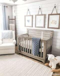 دکوراسیون اتاق نوزاد دخترانه و پسرانه کوچک