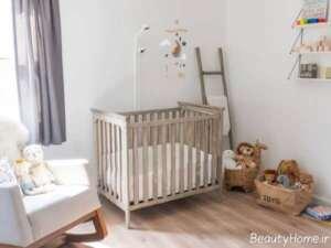 طراحی اتاق کوچک برای نوزاد