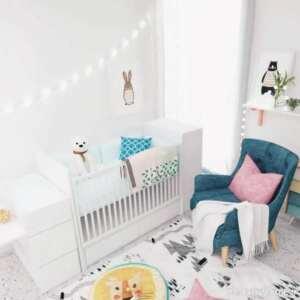 دکوراسیون اتاق نوزاد شیک و جذاب