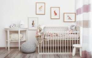 دکوراسیون اتاق نوزاد کوچک